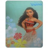 Blanket Plaid VAIANA Oceania MOANA 140x110cm ORIGINALE