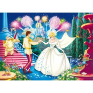 PUZZLE 104 Pieces CINDERELLA WEDDING 3D Clementoni 20051