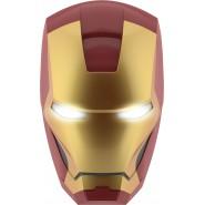 LAMPADA Luce LED Maschera IRON MAN da Muro 3D Philips MARVEL COMICS Avengers