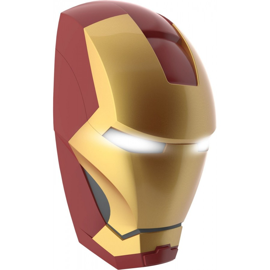 LAMP LED Wall Light IRON MAN Mask 3D Philips MARVEL COMICS Avengers - Apecollection