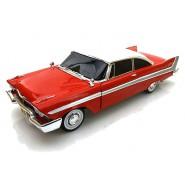 Modellino DieCast 1/18 Plymouth Fury CHRISTINE MACCHINA INFERNALE Night Time Version Stephen King AUTOWORLD