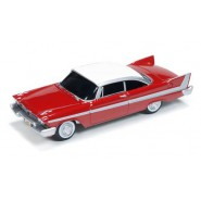 Modellino Scala 1/64 CHRISTINE MACCHINA INFERNALE Plymouth Fury 1958 Stephen King