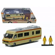 THE WALKING DEAD Modellino CAMPER con 2 FIGURE Walter Jesse DieCast Scala 1/64 GREENLIGHT Collectibles