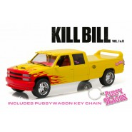 PUSSY WAGON DieCast Model from KILL BILL PickUp Chevrolet C-2500 Scala 1/18 Greenlight