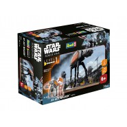 STAR WARS ROGUE ONE Modello 20cm AT-ACT WALKER Luci Suoni KIT REVELL 1/100
