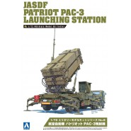Kit Montaggio Militare Stazione Lanciarazzi PATRIOT PAC-3 Scala 1/72 AOSHIMA Japan