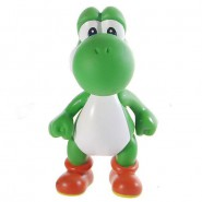 SUPER MARIO Bella Figura Snodabile 12cm YOSHI Draghetto DRAGO VERDE Snodabile