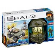 HALO Playset MICRO-FLEET WARTHOG Veicolo e Figura MASTER CHIEF Costruzioni MEGA BLOKS