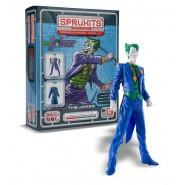 THE JOKER Action Figure Model KIT 10cm SPRUKITS Bandai LEVEL 1