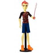 Figura Action HEATH BURNS Bambola 27cm MONSTER HIGH Serie GHOUL FAIR Mattel CHW72