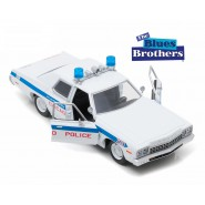 Blues Brothers AUTO POLIZIA 1975 Dodge Monaco CHICAGO POLICE Scala 1/24 Greenlight