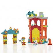 Set Gioco PLAY-DOH Town CASERMA DEI POMPIERI Firehouse PLAYSET Figure e PASTA Hasbro