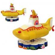 BEATLES Sottomarino YELLOW SUBMARINE Modellino 15cm BOBBLE HEAD Originale
