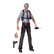 COMMISSARIO GORDON Figura Action 17cm da BATMAN ARKHAM KNIGHT Originale DC COLLECTIBLES