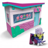 POWERPUFF GIRLS Playset MOJO JOJO Jewelry Shop WITH FIGURE Spin Master