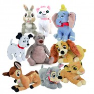 Peluche DISNEY Animal Friends 20cm Originale UFFICIALE a Scelta con OLOGRAMMA