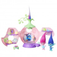 TROLLS Playset Game POPPY CORONATION POD Light Up HASBRO
