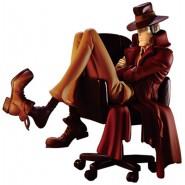 Figura Statua ZENIGATA Ispettore ZAZA Creator X Creator SPECIAL COLOR Originale BANPRESTO Lupin 3rd III