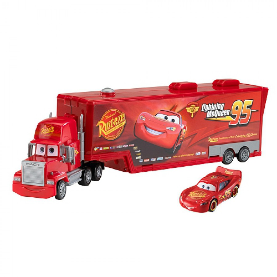 Cars 2 Model Truck Mack Carry Case Car With Lightning