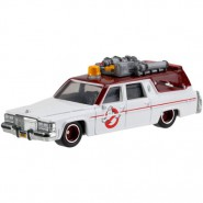 GHOSTBUSTERS Modellino Auto ECTO-1 2016 Version 1/64 DWJ72 Hot Wheels MATTEL