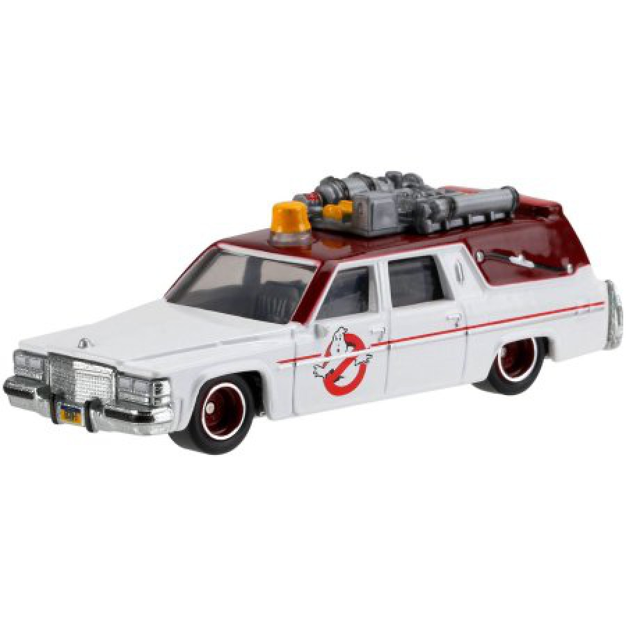 ghostbusters modellino auto ecto 1 2016 version 1 64 dwj72. Black Bedroom Furniture Sets. Home Design Ideas