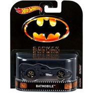 BATMOBILE Modellino Auto BATMAN CLASSIC Versione 2016 Scala 1/64 DWJ75 Hot Wheels MATTEL