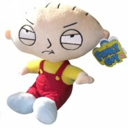 STEWIE GRIFFIN Originale PELUCHE 25cm Seduto TOP QUALITY Ufficiale FAMILY GUY