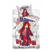 BED SET Duvet Cover WINX BLOOM Get The Magic 160x200cm COTTON Original