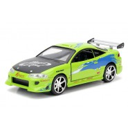 FAST and FURIOUS Model BRIAN'S MITSUBISHI ECLIPSE Green 1/32 Collector's Series  Original JADA Toys