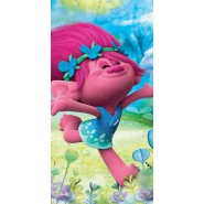 Beach Towel TROLLS Poppy and Branch 140x70cm ORIGINAL