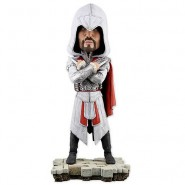 ASSASSIN'S CREED HEAD KNOCKER Figure 20cm EZIO AUDITORE LEGENDARY ASSASSIN Neca