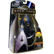STAR TREK Action Figure 10cm ORIGINAL SPOCK Playmates USA serie GALAXY COLLECTION
