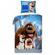 Secret Life of PETS Bed SET 4 Characters MAX DUKE MEL CHLOE Cotton DUVET COVER 140x200cm ORIGINAL