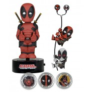 MARVEL DEADPOOL Box GIFT SET Regalo BODYKNOCKER Scaler Hubsnaps Earbuds Edizione Limitata