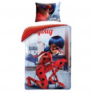 MIRACULOUS LADYBUG Marinette BED SET Cotton DUVET COVER 140x200cm ORIGINAL