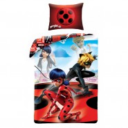 MIRACULOUS LADYBUG Marinette and Adrien BED SET Cotton DUVET COVER 140x200cm ORIGINAL