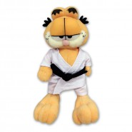Plush of GARFIELD Cat with KARATE CLOTH 23cm Original OFFICIAL