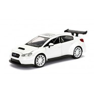FAST & FURIOUS 8 Model MR. LITTLE NOBODY'S SUBARU WRX STI 1:24 Original JADA Collector's Series