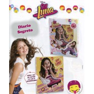 SOY LUNA Block-Notes DIARIO Segreto LUMINOSO con LED Originale