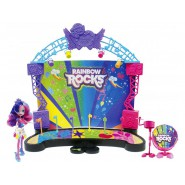 MY LITTLE PONY Grande Playset PALCOSCENICO Stage CONCERTO Rainbow Rocks CON BAMBOLA Hasbro