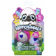 Hatchimals CollEGGtibles Collector BOX 2 Eggs FIGURES + NEST Season 1 Original SPIN MASTER