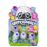 Hatchimals CollEGGtibles Ovetti Collezionabili BOX 4+1 5 FIGURE 4 Uova Season 1 Originali SPIN MASTER