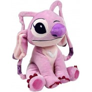 PLUSH Soft Toy ANGEL Pink Alien STITCH 's PINK Friend GIANT 45cm DISNEY Lilo Stitch