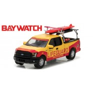 Modellino LIFEGUARD Pickup Beach Patrol da BAYWATCH O Scala 1/64 Greenlight