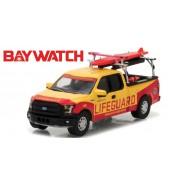 Modellino LIFEGUARD Pickup Beach Patrol da BAYWATCH Scala 1/64 Greenlight
