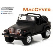 Model Car JEEP WRANGLER 1987 From MacGyver Scale 1/64 Greenlight MAC GYVER