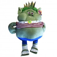 PLUSH Soft Toy KING Bergen GRISTLE XXL Giant 65cm ORIGINAL Trolls