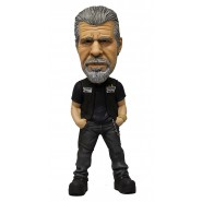 Mezco Toys Figure CLAY MORROW Bobble Head 15cm Original SONS OF ANARCHY