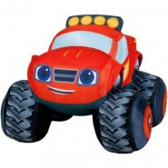 Peluche BLAZE Mega Macchine 14cm ORIGINALE Nickelodeon