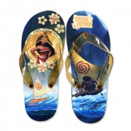 SLIPPERS Thongs MOANA and MAUI Flip Flops Girl DISNEY Official CHOOSE THE SIZE
